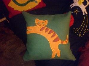 weasley cushion